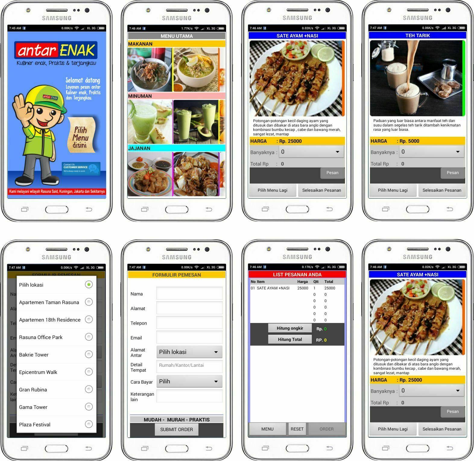 Jasa Pembuatan Aplikasi Pesan Makanan, Jasa Pembuatan Aplikasi ios Dan android, Jasa Pembuatan Aplikasi Android. jasa bikin Aplikasi android, Pembuat Aplikasi gojek Dan Segala macam Aplikasi.