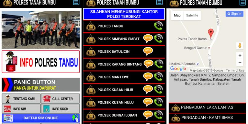 Jasa pembuatan aplikasi pengaduan untuk lembaga kepolisian dan pemerintahan